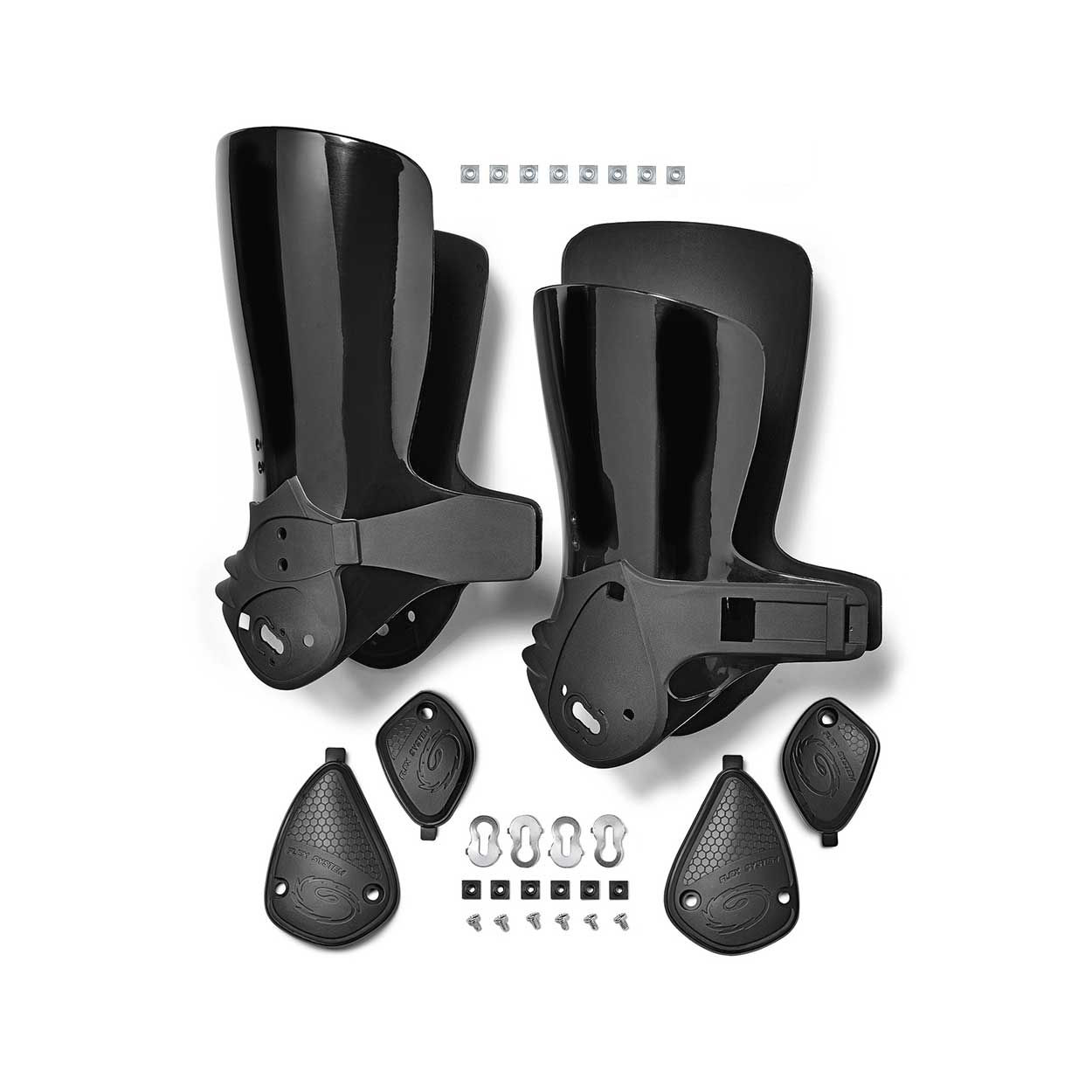 Crossfire 1 Heel Upper L+R Black
