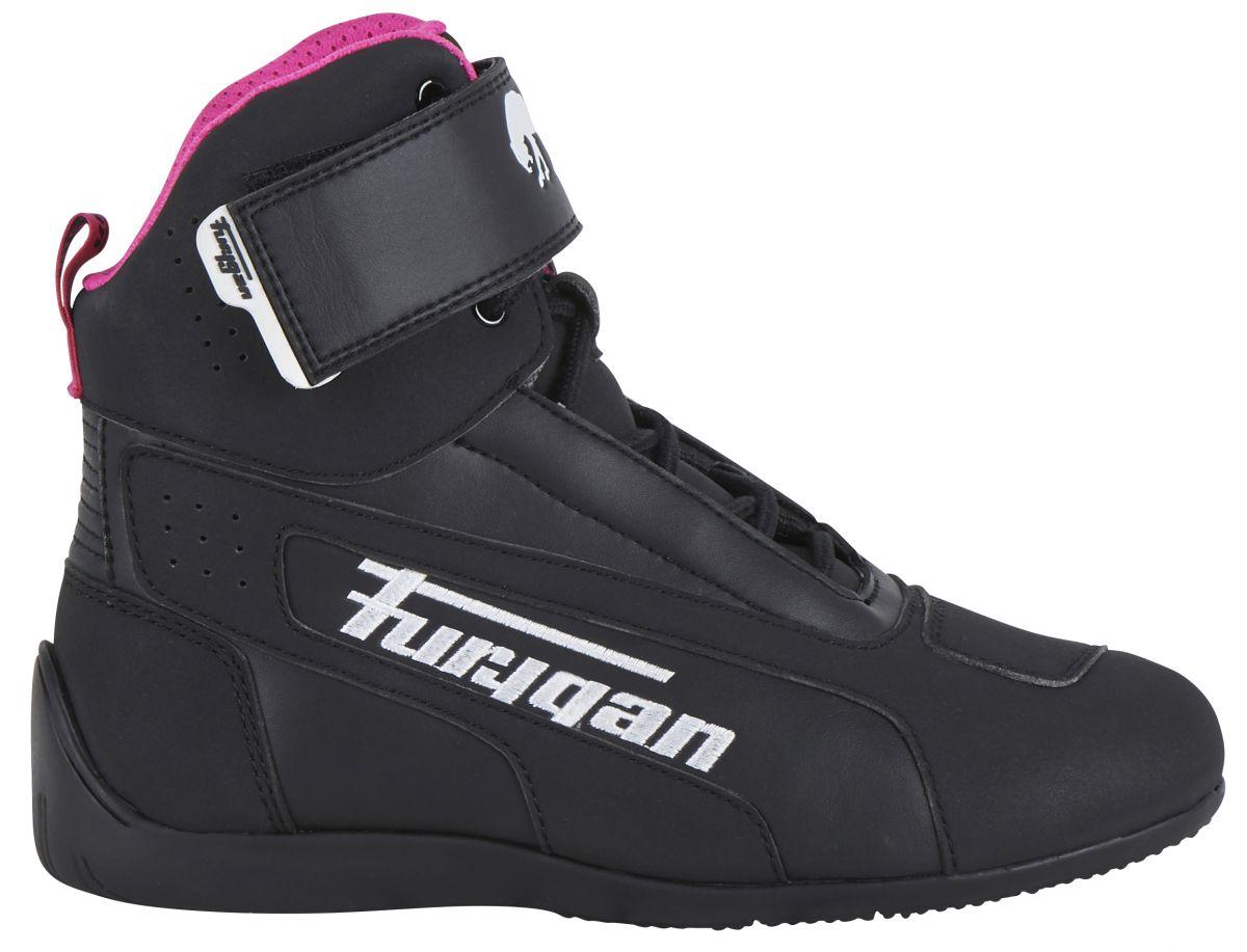 Furygan Dames Motorschoenen Zephyr D3O Black-White-Pink