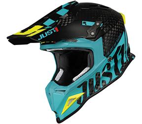 JUST1 Helmet J12 PRO Racer Blue-Carbon 60-L