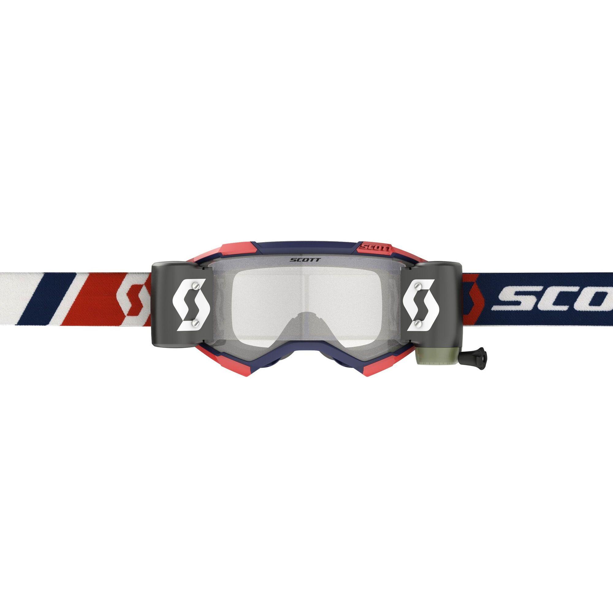Scott Fury Crossbril WFS Blue/Red