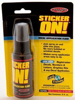Hardline products Sticker On!