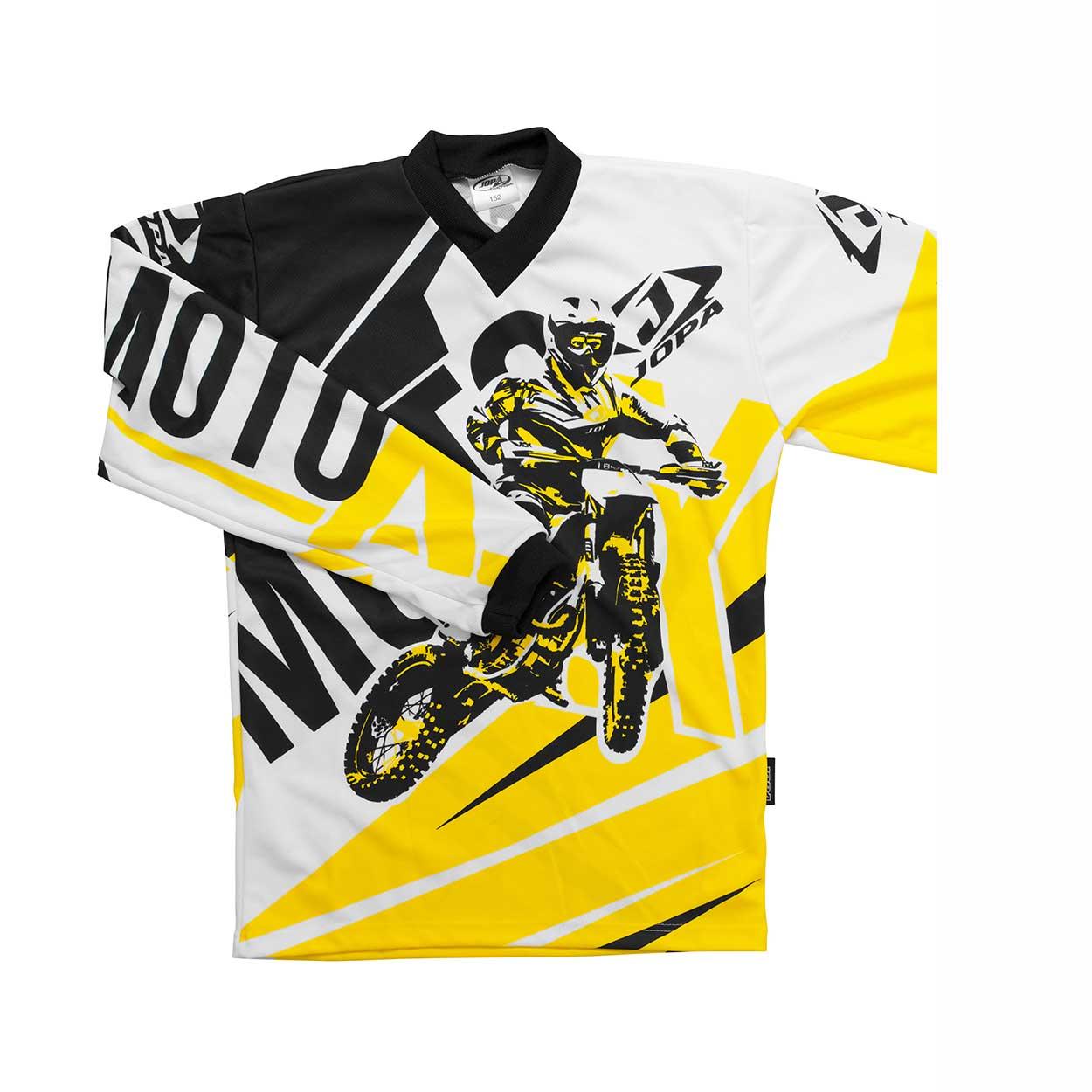 Jopa Kinder Shirt Moto-X Yellow-98