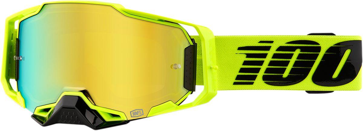 100% Armega Crossbril Nuclear Citrus-Gold Mirror