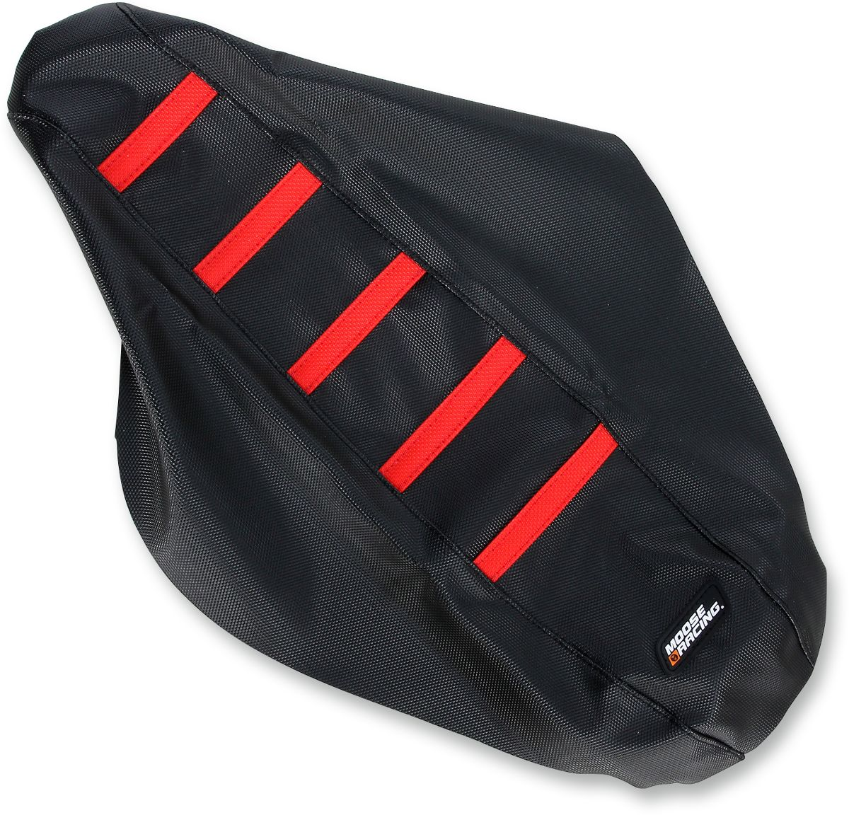 SEAT COVER RIBBED HON RED