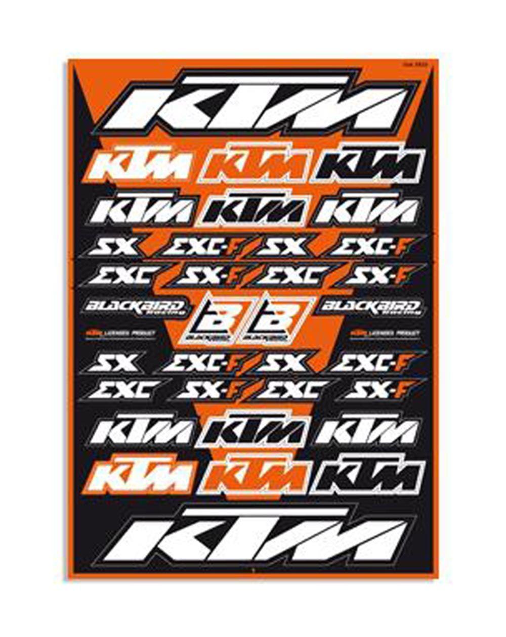 Blackbird Universal Sticker Kits KTM